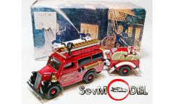 GMC Rescue Squad Van 1937 пожарный  , серия пожарные машины