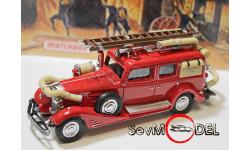 Cadillac Fire Vagon пожарный , серия пожарные машины, масштабная модель, 1:43, 1/43, Matchbox