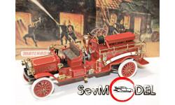MACK Fire пожарный , серия пожарные машины, масштабная модель, Matchbox, scale43