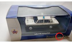 IST LADA-2106 полиция, масштабная модель, ВАЗ, IST Models, 1:43, 1/43