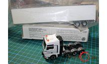 Модель  тягача  MAN + полуприцеп рефрижератор  1/87 HO, масштабная модель, HERPA, 1:87