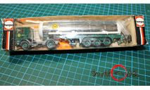 Модель  тягач VOLVO газовоз  1/87 HO, масштабная модель, HERPA, 1:87