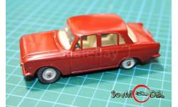 Dinky Toys Москвич-408  оригинал восстановленная, масштабная модель, 1:43, 1/43