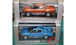 Nissan   Две модели внедорожников, масштабная модель, Norev, 1:43, 1/43