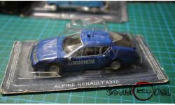 Renault Alpine A310, журнальная серия Полицейские машины мира (DeAgostini), Полицейские машины мира, Deagostini, scale43