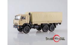 КАМАЗ-43118 6x6 бортовой с тентом