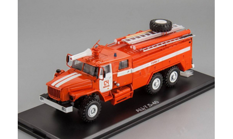 SSM Пожарная машина АЦ-7,5-40 (4320) СЧ Иваново, масштабная модель, 1:43, 1/43, Start Scale Models (SSM), УРАЛ