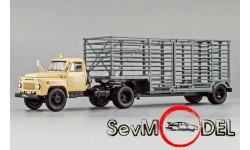 DIP Models ГАЗ-52-06 тягач 'Мосовощтранс' и полуприцеп-таровоз, масштабная модель, scale43