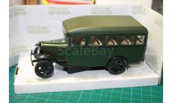 Бесплатная доставка! Наш Автопром  Газ-03-30  Автобус  зелёный, масштабная модель, 1:43, 1/43