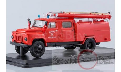 Бесплатная доставка!!! SSM АЦ-30 ( ГАЗ 53А )-106А, ДПД им. Дзержинского, масштабная модель, 1:43, 1/43, Start Scale Models (SSM)