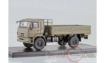 SSM КАМАЗ-43502 Мустанг (хаки), масштабная модель, 1:43, 1/43, Start Scale Models (SSM)
