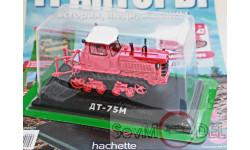 Тракторы: история, люди, машины №42 - ДТ-75 первого поколения, журнальная серия Тракторы. История, люди, машины (Hachette), 1:43, 1/43