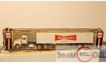 HERPA 1/87 Kenworth Budweiser, масштабная модель, 1:87