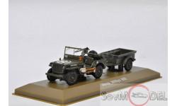 Atlas 1/43 Jeep Willis MB