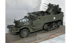 Atlas 1/43 Multiple Gun motor carriage M16, масштабная модель, 1:43, Jeep