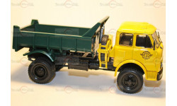НАШ Автопром МАЗ-509Б (1962) жёлтая  кабина, масштабная модель, 1:43, 1/43