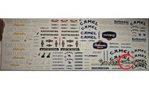 Бесплатная  доставка! Декаль Ралли спонсоры №2, фототравление, декали, краски, материалы, scale43, Нива