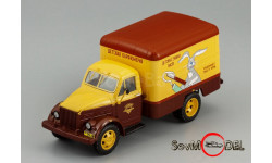 ГАЗ-51 фургон КИ-51 'Детская Парфюмерия' 1953, масштабная модель, DiP Models, scale43