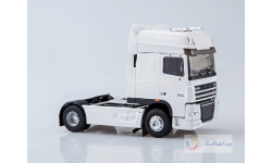 Eligor 1/43 DAF XF105, white 2-axletowing-vehicle