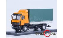 МАЗ-5340, оранжевый/зеленый, масштабная модель, Start Scale Models (SSM), 1:43, 1/43