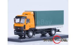 МАЗ-5340, оранжевый/зеленый