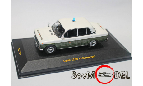 IXO LADA-1200 полиция ВАЗ-2101, масштабная модель, ixo models, 1:43, 1/43