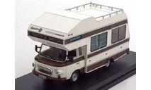 IST BARKAS B1000 Wohnmobil кемпер - 1973, белый/коричневый, масштабная модель, 1:43, 1/43, IST Models