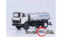 Автоистория 1/43 АЦИП-7,7 Молоко (МАЗ-5337)