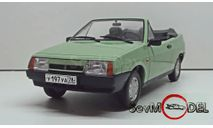 Легендарные Советские Автомобили №63 ВАЗ-2108 Наташа, журнальная серия масштабных моделей, Hachette, scale24