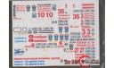 Бесплатная  доставка! Декаль 1/43 Пожарные машины, фототравление, декали, краски, материалы, 1:43, Петроградъ и S&B