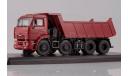 SSM КАМАЗ-6540 8х4 самосвал (ранний) вишнёвый, масштабная модель, 1:43, 1/43, Start Scale Models (SSM)