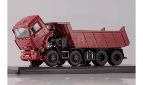SSM КАМАЗ-6540 8х4 самосвал (ранний), масштабная модель, 1:43, 1/43, Start Scale Models (SSM)