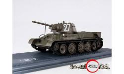 Легенды Отечественной бронетехники №1 Танк Т-34 образца 1942 г., масштабные модели бронетехники, DeAgostini, 1:43, 1/43