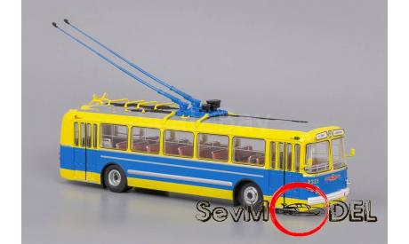 ClassicBus Троллейбус ЗИУ-5 музейный, масштабная модель, 1:43, 1/43