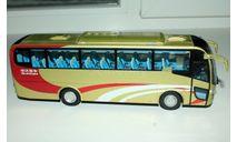 Автобус SWB6110 золотистый, масштабная модель, Sunwin, Chinabus, 1:43, 1/43