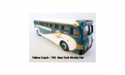 Автобус Yellow Coach-743 New York Worids Fair