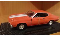 Chevrolet Chevelle SS 454 1970, масштабная модель, Road Champs, 1:43, 1/43
