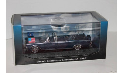 Lincoln Continental SS-100-X JFK  -  1/43  -  Atlas, масштабная модель, 1:43