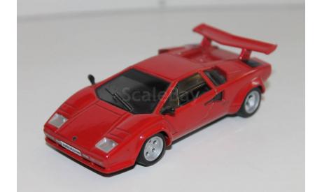Lamborghini Countach LP500S  -  1/43  -  DeAgostini, масштабная модель, 1:43