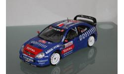SOLIDO CITROEN XSARA WRC Monte Carlo 2006 Loeb # 1 1 / 18, масштабная модель, Citroën, 1:18, 1/18