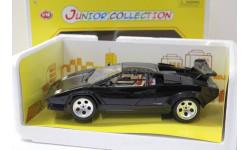 1/18 1:18 СПЕЦСЕРИЯ! Bburago Lamborghini Countach черный Италия, масштабная модель, scale18
