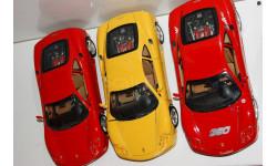 1/18 Bburago Ferrari Modena 360 Италия до 2000-го, масштабная модель, 1:18