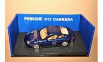 AutoArt Performance #77851 Porsche 911 Carrera Coupe (996) Facelift (4x2) blue metallic, масштабная модель, scale18