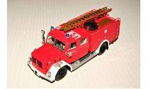 Magirus-Deutz Merkur 150 TLF16 (4x2) Feuerwehr Luneburg red/white, Germany, масштабная модель, Minichamps, scale43