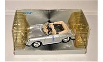 Porsche 356B Cabrio, масштабная модель, Welly, scale24
