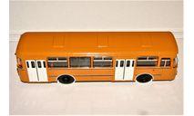 ЛиАЗ-677М (4х2) охра 1982-1994 гг., масштабная модель, Советский Автобус, 1:43, 1/43