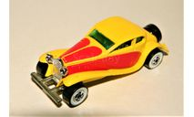 2-Doors Super Coupe yellow/red 1980, масштабная модель, Hot Wheels, made in Malaysia
