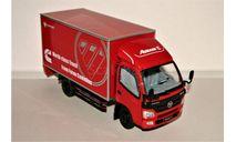 FOTON Cummins Aumark C (4x2) Fourgon dark red, масштабная модель, FOTON Motor Group, scale24