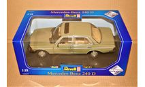 Revell #08809 Mercedes-Benz 240D (W123) 1976 olive green, Germany, масштабная модель, scale18
