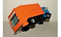 Saviem-MAN SM10 4x2 1975 blue/orange, масштабная модель, IXO Special C, scale43